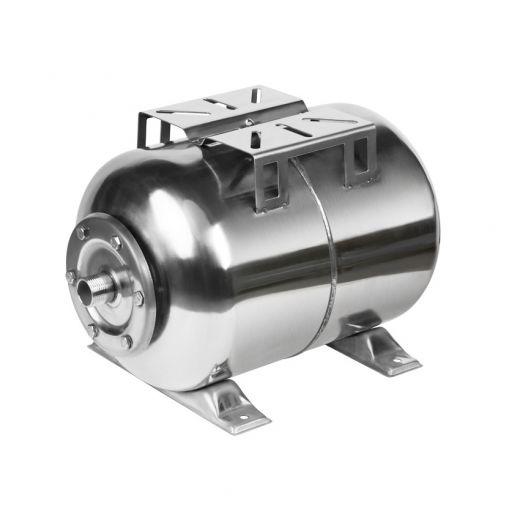 Гидроаккумулятор Unipump 24 л (горизонтальная), нержавеющая сталь