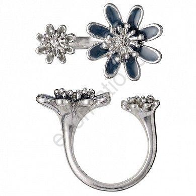 Кольцо PILGRIM 241336204. Коллекция Silver Blue