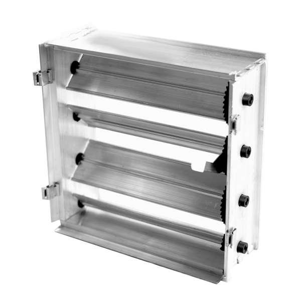 Потолочная решетка 300х300 (с клапаном расхода воздуха)