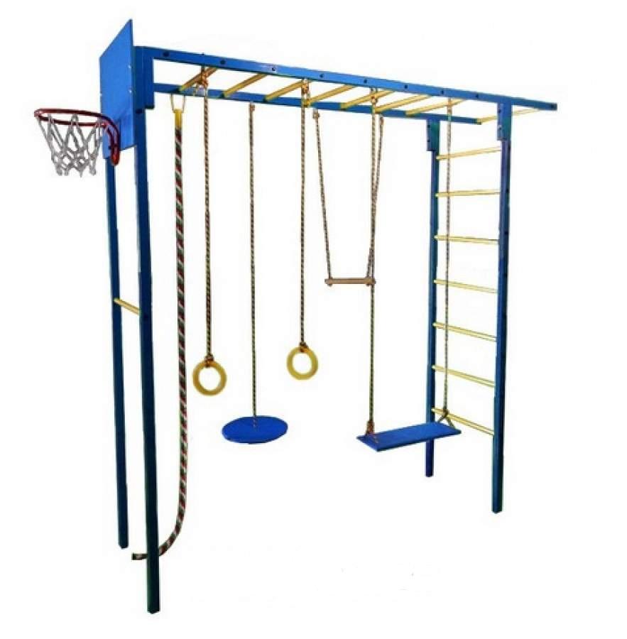 Детский спортивный комплекс Олимпик 3.1, синий