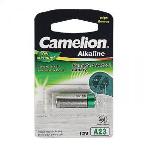 Батарейка алкалиновая Camelion Mercury Free, A23 (MN21, LR23A, LRV08)-1BL, 12В,блистер,1 шт. 3781529
