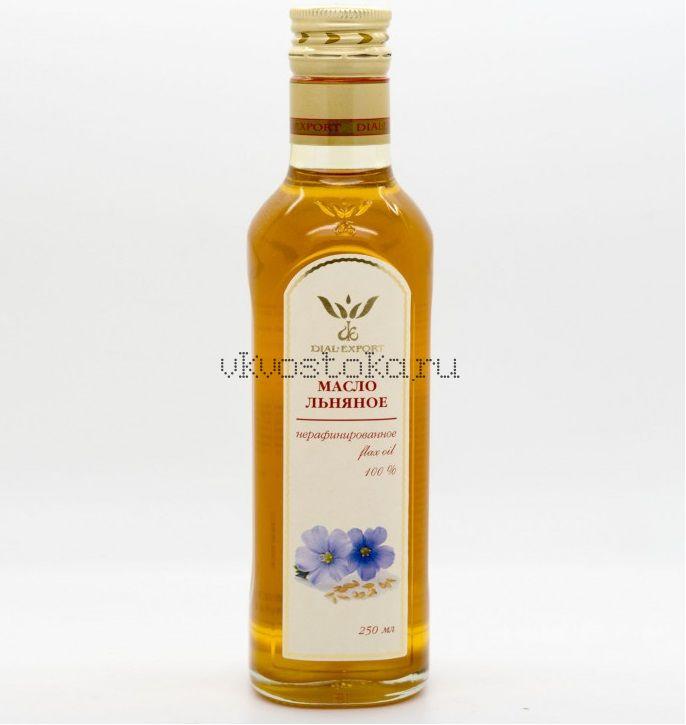 Масло льняное нерафинированное (стекло)