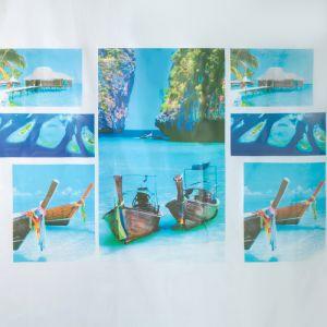 """Штора для ванной 180?180 см """"Мальдивы"""", EVA"""