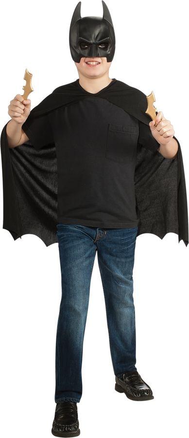 Детский костюм Бэтмена с сюрикенами