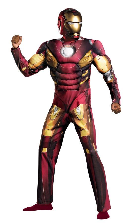 Костюм Железного Человека с мышцами