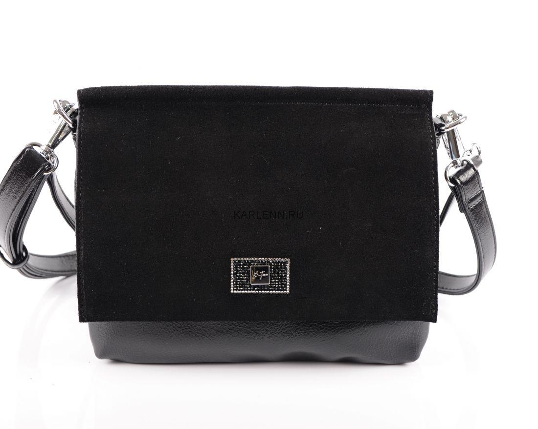 Мини-сумочка Velina Fabbiano (чёрная)