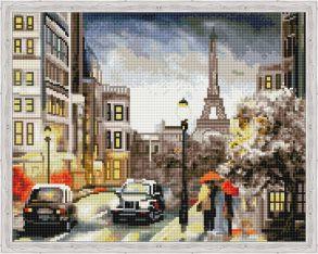 Алмазная мозаика «Городская романтика» 40x50 см