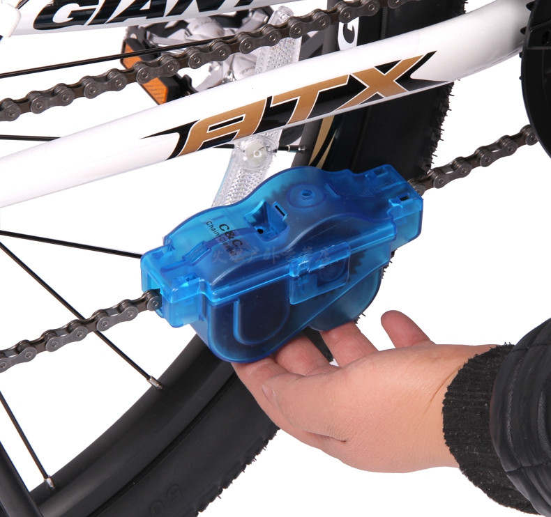 Машинка для очистки велосипедной цепи Bike Wash Chain Device