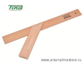 Угольник деревянный столярный 400х140 мм 45/135 град PINIE 43-1