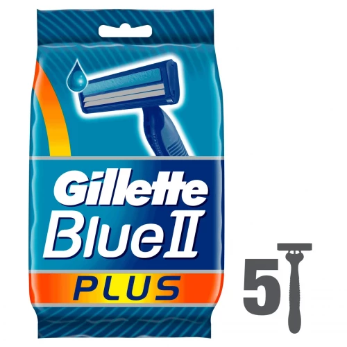 Gillette Blue II Plus (5шт)