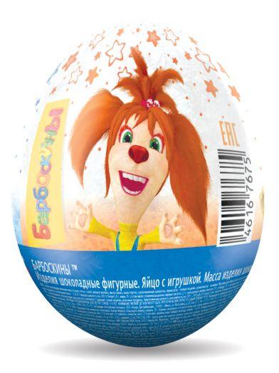 Барбоскины шоколадное яйцо с игрушкой 20гр *6*24 (ES-2-14/BB)