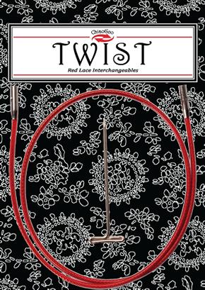 Красные лески для съемных спиц Twist Large (L)