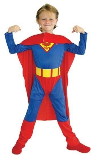 Детский костюм непобедимого Супермена