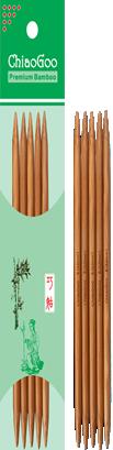 Чулочные спицы ChiaoGoo Bamboo Patina, 15 см