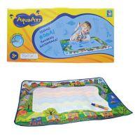 1toy AquaArt Коврик для рисования с водным маркером для девочек, разноцветный