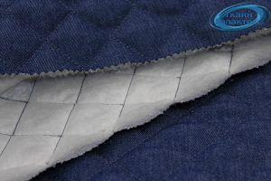 Стежка образец стеганный джинсы
