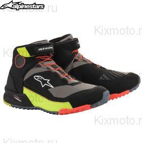 Ботинки Alpinestars CR-X Drystar, Черно-желто-красные