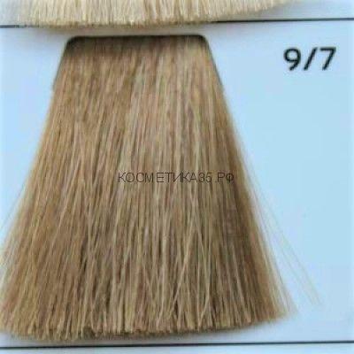 Крем краска для волос 9/7 Блондин коричневый 100 мл.  Galacticos Professional Metropolis Color