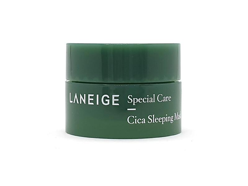 Laneige mini  Ночная успокаивающая маска для лица с центеллой Cica Sleeping Mask