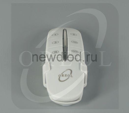 Выключатель ПУЛЬТ с держателем 3-канальный RC-3 Oreol