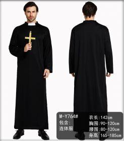 Костюм католического священника с крестом