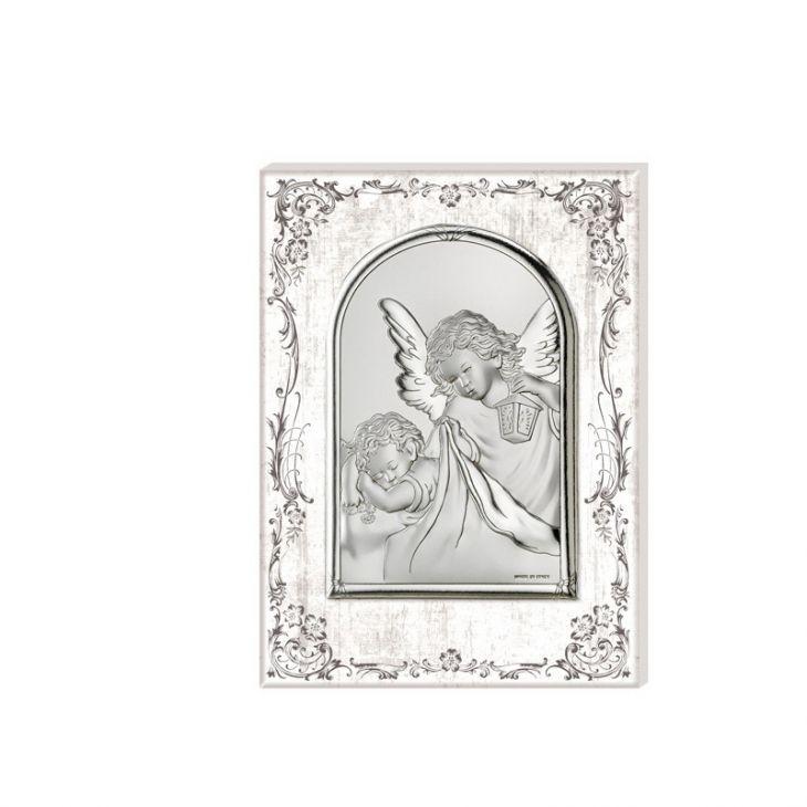 """Миниатюра """"Ангел Хранитель"""" (Арт. 81231/1) (Италия, 10х12 см.)"""