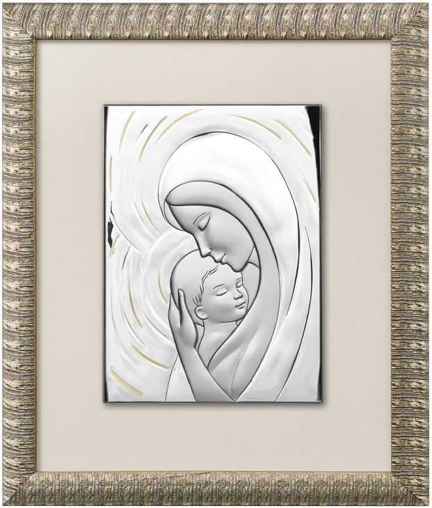 "Миниатюра ""Мадонна с младенцем"" (Италия, 43х50 см.)"