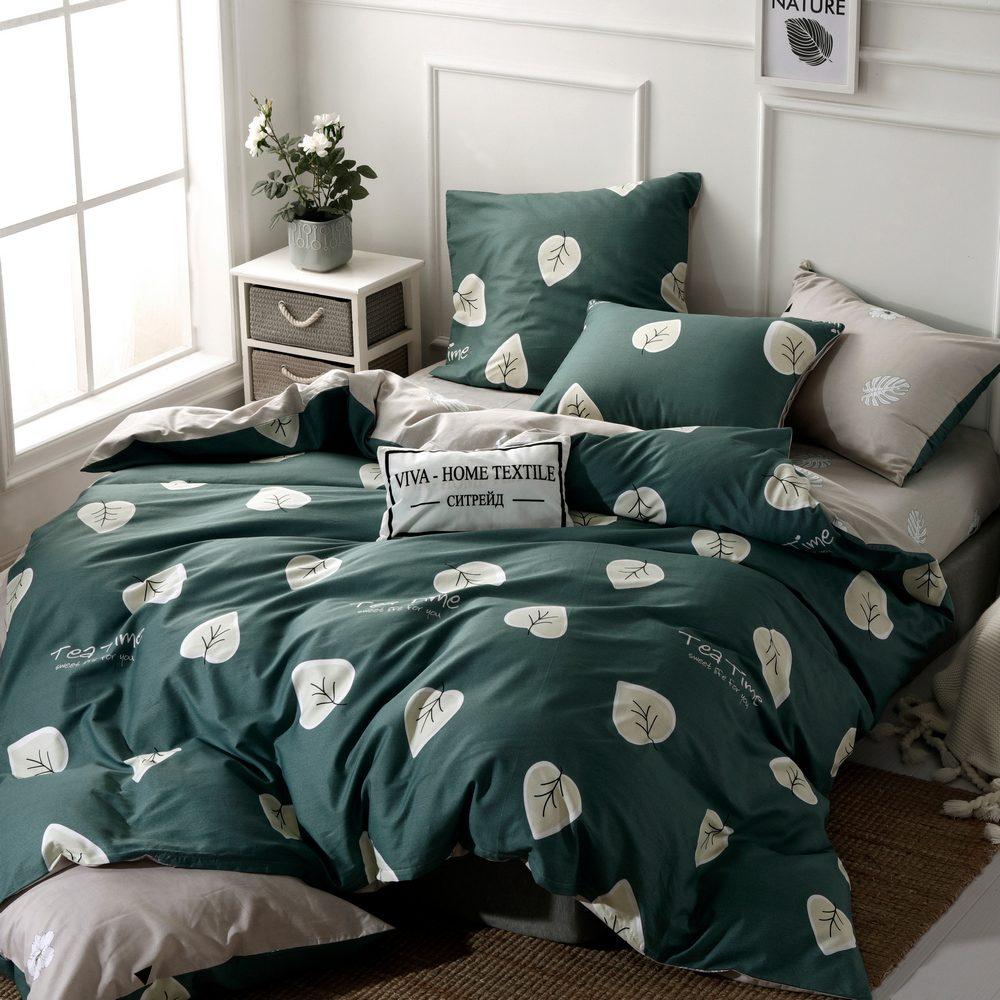 Комплект постельного белья Делюкс 2 спальный Сатин L225