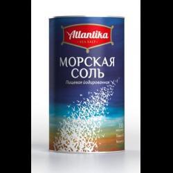 Соль морская йодированная Atlantika 150 гр