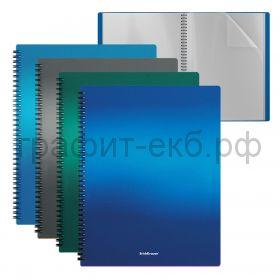 Папка 40 конвертов ErichKrause Matt Ice Metallic на спирали 49962