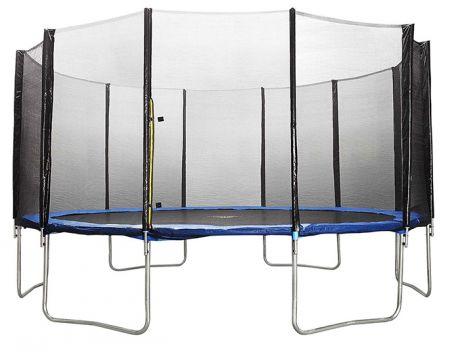 Батут DFC Trampoline Fitness 20 футов с сеткой (610 см)