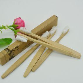 Зубная щетка bamboo toothbrush из бамбука в ассортименте