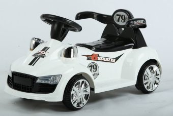 Автомобиль э/ф Маттео, белый, 6V4AH*1
