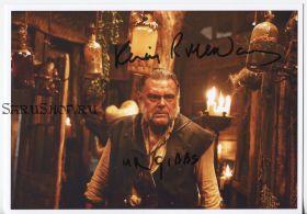 Автограф: Кевин МакНэлли. Пираты Карибского моря: Сундук мертвеца