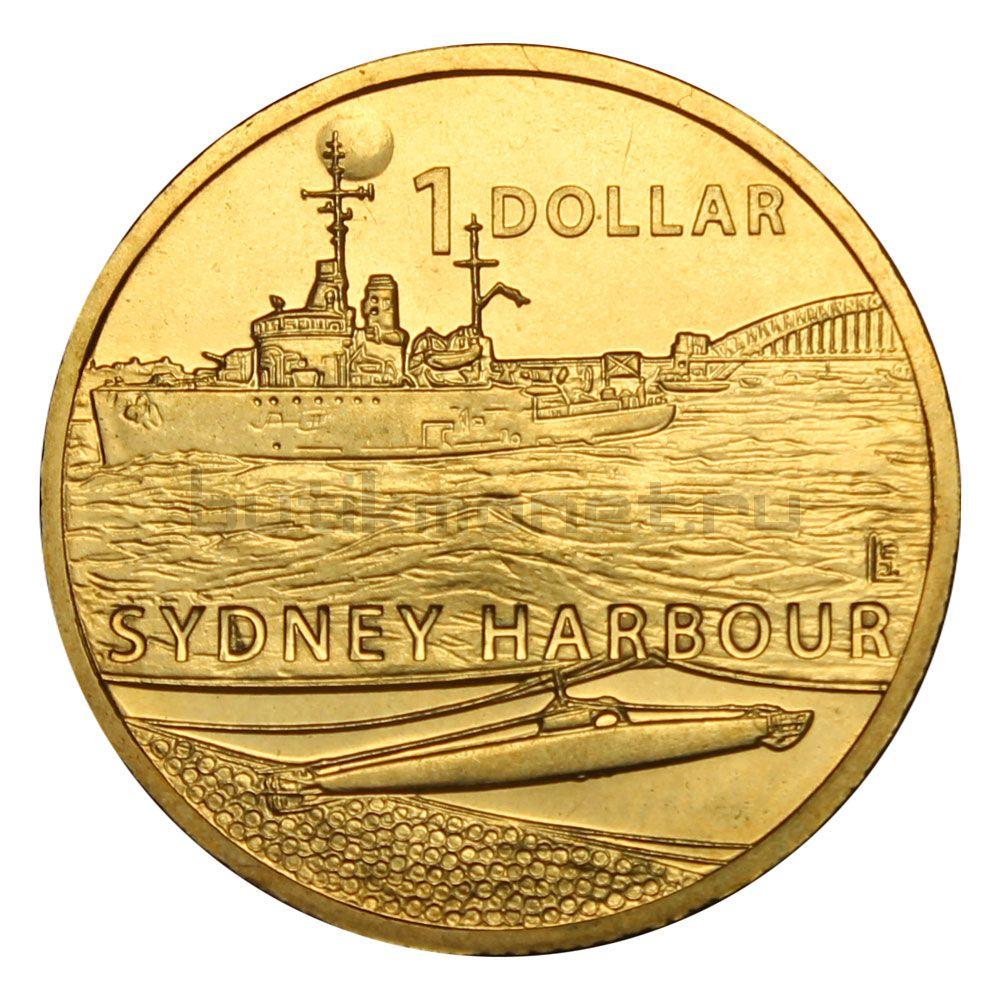 1 доллар 2017 Австралия Нападение на Сидней-Харбор (Война около дома)