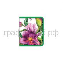 Папка для тетрадей А5+ ErichKrause Tropical Mood/Flowers на молнии 49346/49347