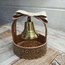 Валдайский колокольчик №3 в корзинке