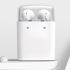 Bluetooth-наушники Dacom с кейсом для зарядки