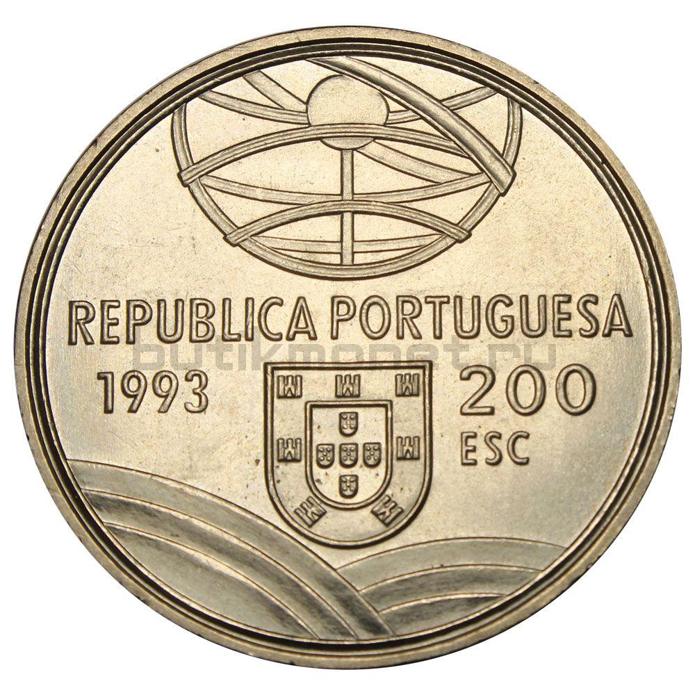 200 эскудо 1993 Португалия Спрингальд - механическое устройство артиллерии