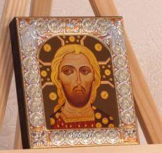 Икона Спас Златые Власы (9х10,5см)