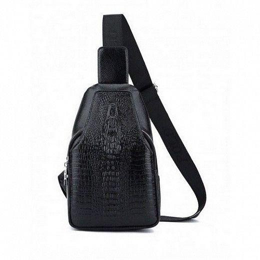 Мужская сумка-рюкзак Alligator