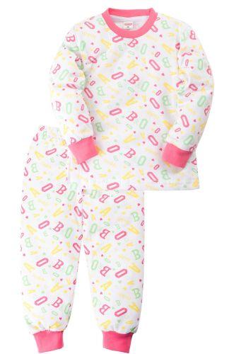 Пижама c начесом для девочки 2-5 лет Sladikmladik SM1091