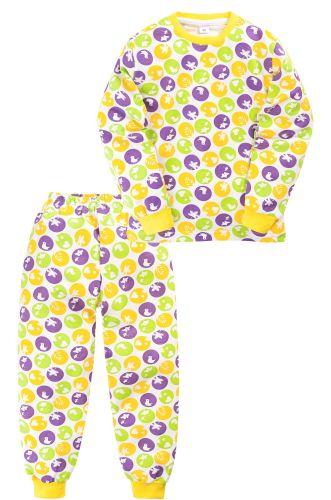 Пижама c начесом для девочки 2-5 лет Sladikmladik SM1094