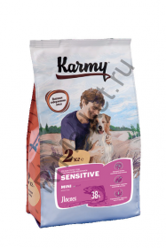 Karmy Sensitive Mini для собак - лосось