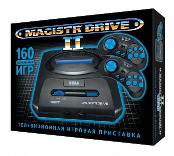 Игровая Приставка Sega Magistr Drive II (160 Встроенных Игр)