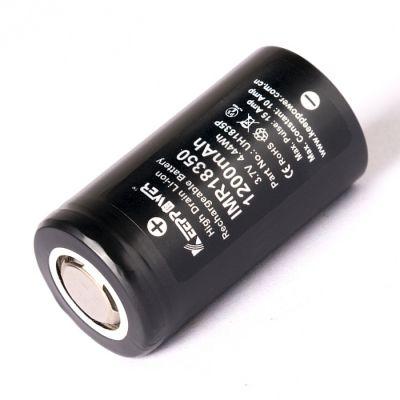 Аккумулятор KeepPower 18350 1200мАч без платы защиты