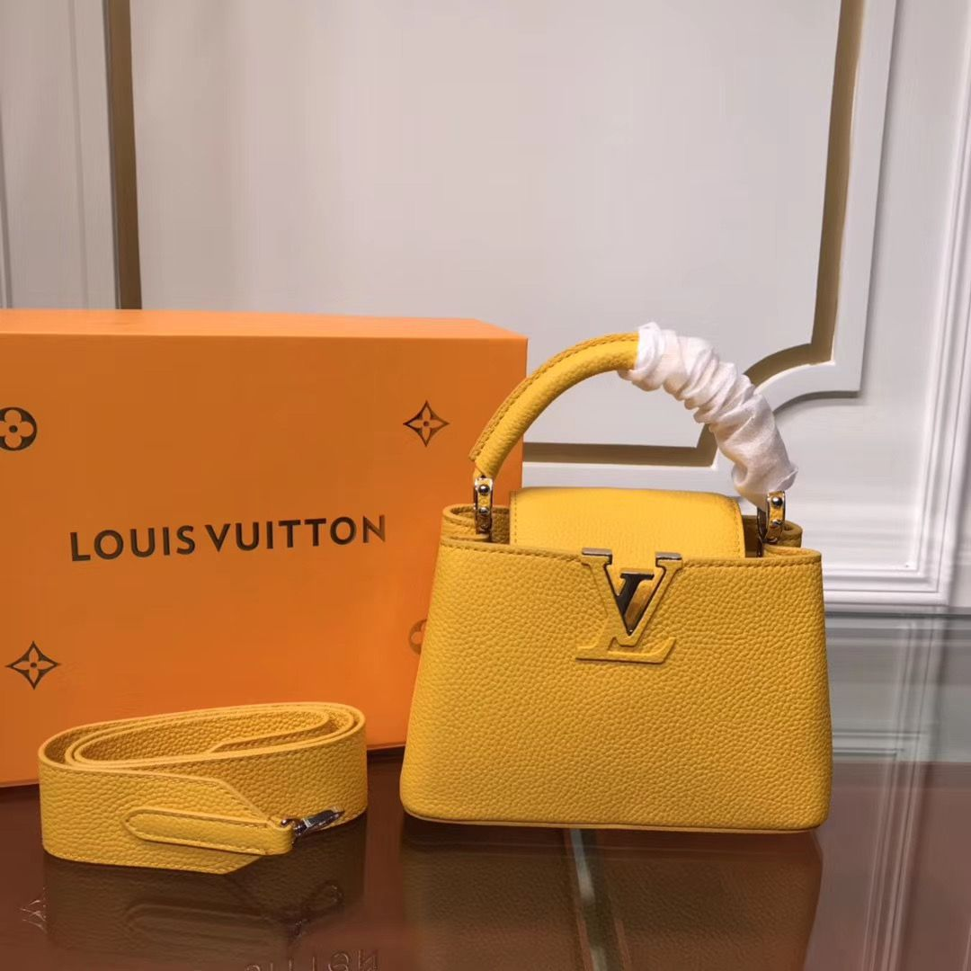 Louis Vuitton Cappucines Mini 21 cm