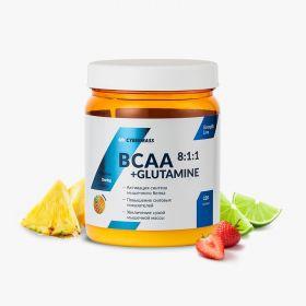 BCAA 8:1:1 + Glutamine от CYBERMASS  220 гр
