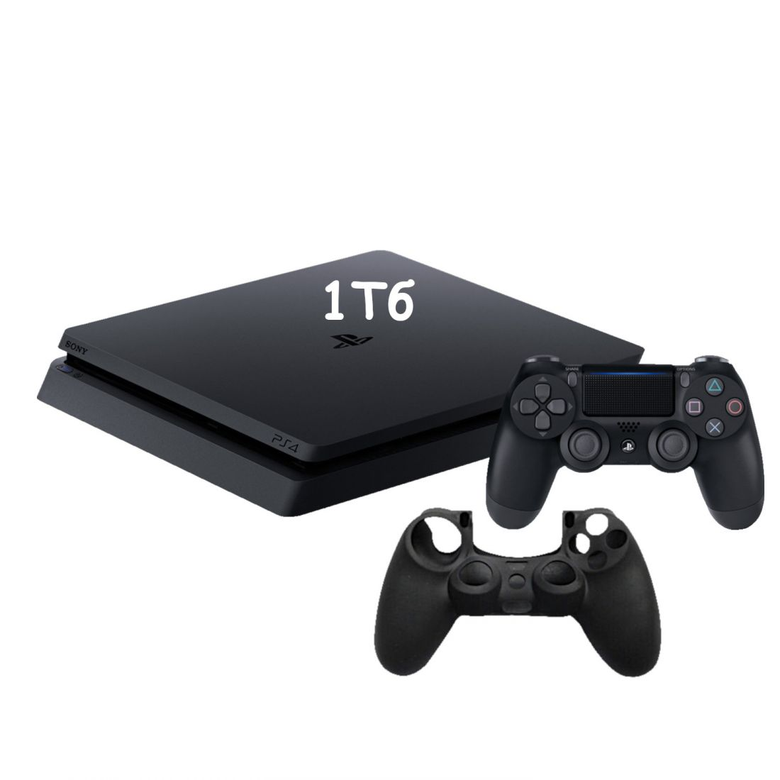 Sony PlayStation 4 Slim 1 Тб ( CUH-2208B ) + Защитный силиконовый чехол для джойстика