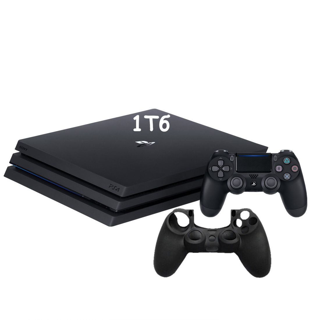 Sony PlayStation 4 Pro 1Tb ( CUH-7208B ) + Силиконовый чехол для джойстика
